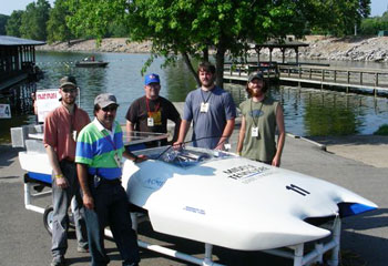 Solar Boat Competition Picture