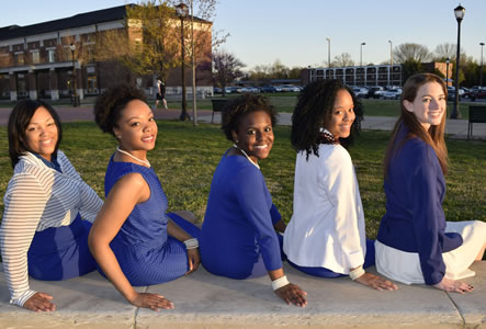 Photo of Zeta Phi Beta women