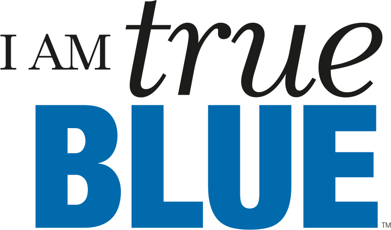 I Am True Blue logo