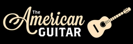 American Guitar Button