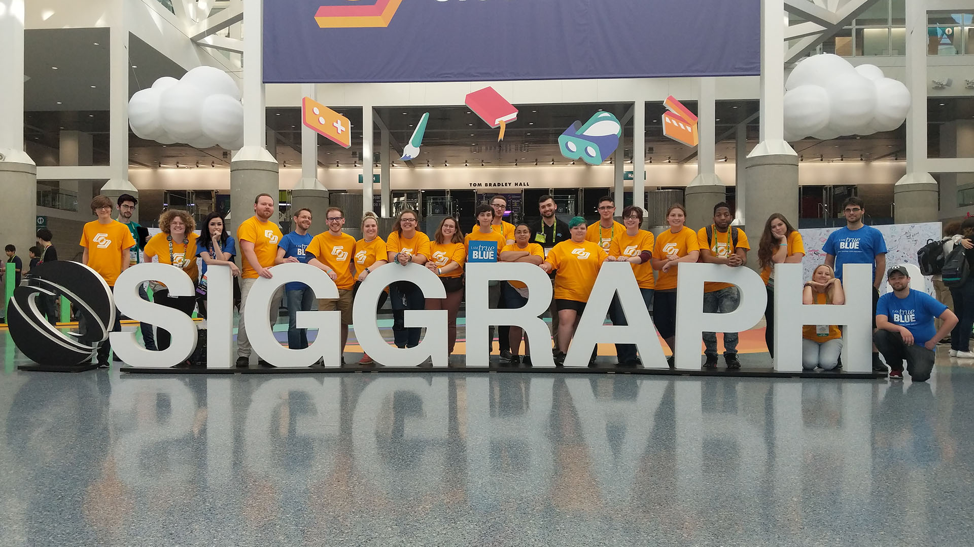 Students at ACM SIGGRAPH