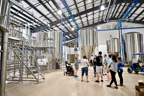 Hop Springs Beer Park provides cutting-edge facility to students