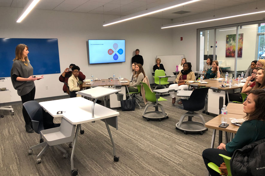 Healthcare design studio engages students with Nashville healthcare leaders