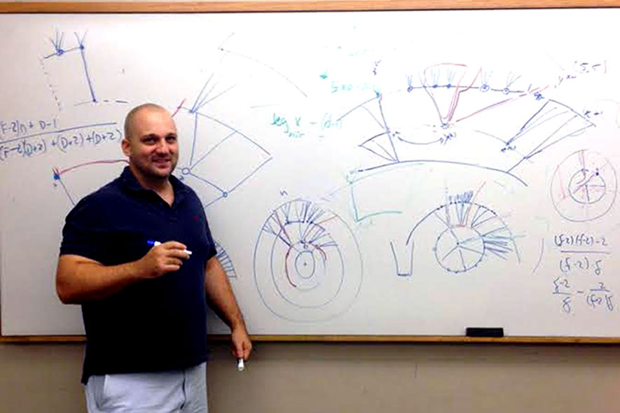 Weekly seminars help grad find passion for graph theory