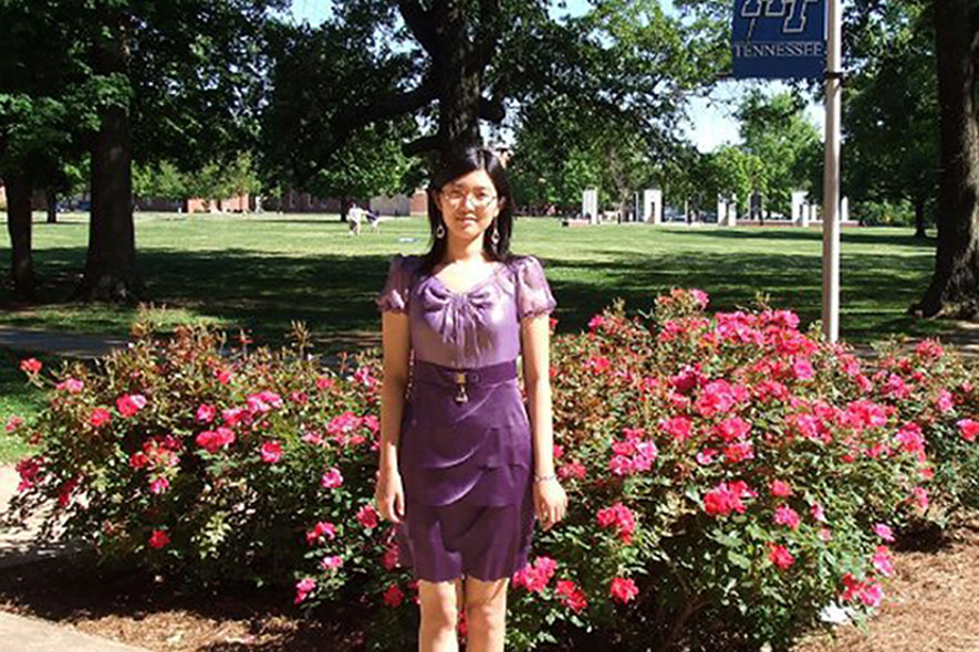 Zhang award-winning thesis focuses on cancer, imaging data