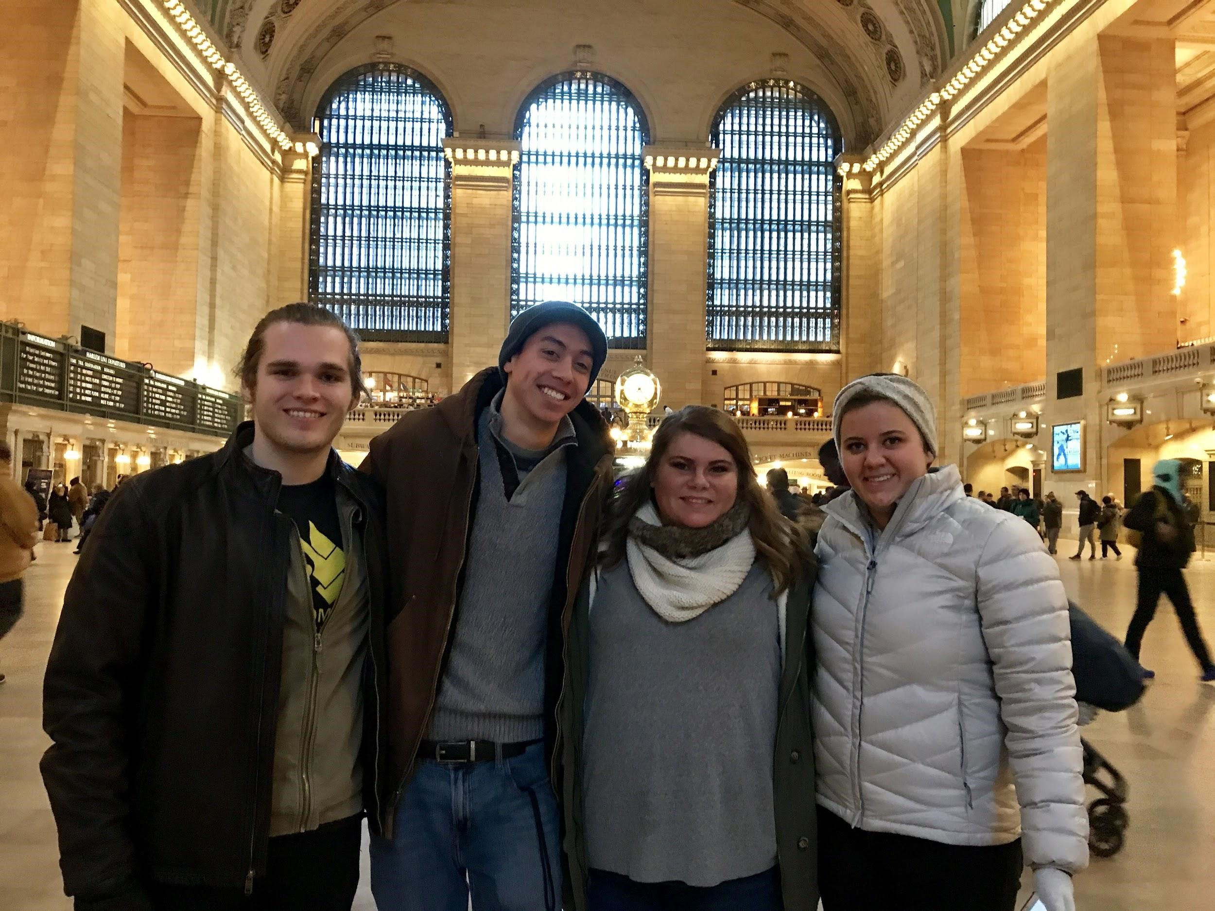 Grand Central Station enroute to Grammys
