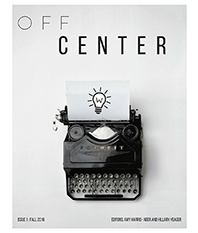 cover of off center, issue 1